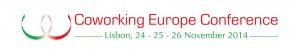 Coworking Europe Conference .Lisboa Nov 2014